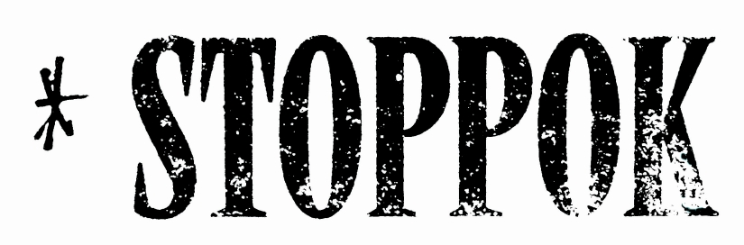 Stoppok-Logo mit Kreuz